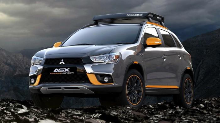 Mitsubishi ASX Geoseek Concept 2016 01