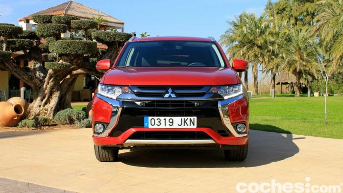 Mitsubishi Outlander PHEV 2016 prueba 11