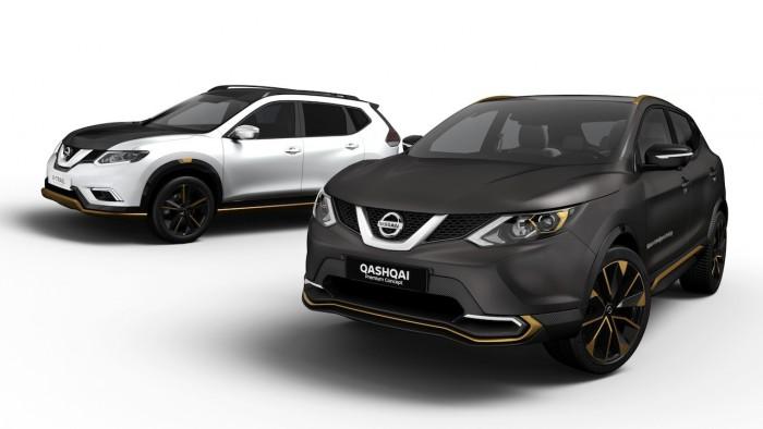 Nissan Qashqai y X-Trail Premium Concept 2016