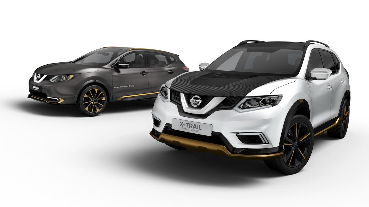 Nissan X-Trail y Qashqai Premium Concept 2016
