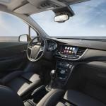Opel Mokka X 2016 interior