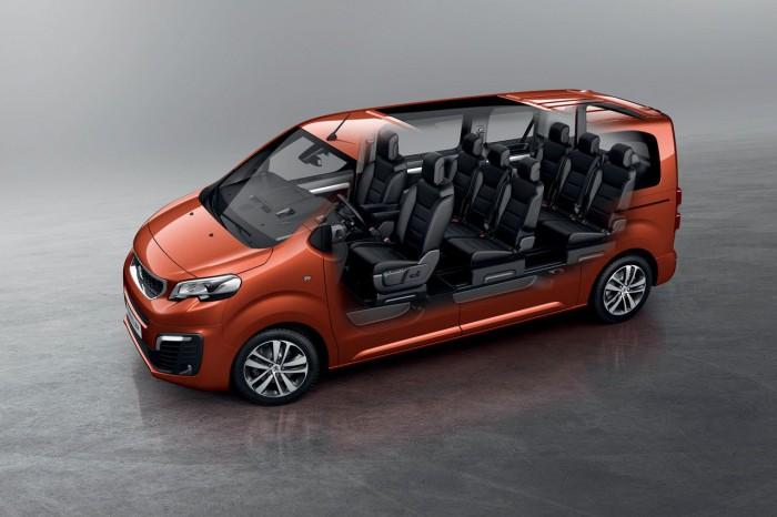 Peugeot Traveller 2016 interior 03