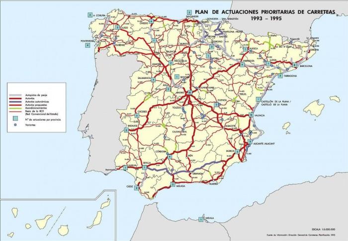 Plan Director de Infraestructuras 1993