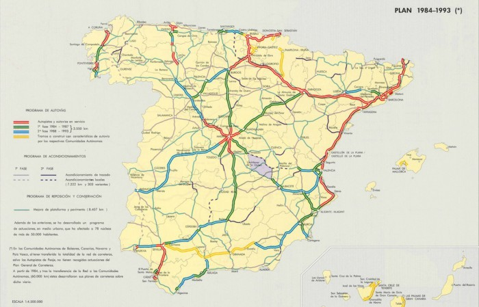 Plan de Carreteras 1985
