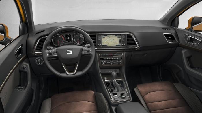 Seat Ateca 2016 interior 1