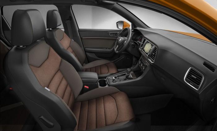 Seat Ateca 2016 interior 2