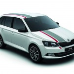 Skoda Fabia Combi Red and Grey 2016