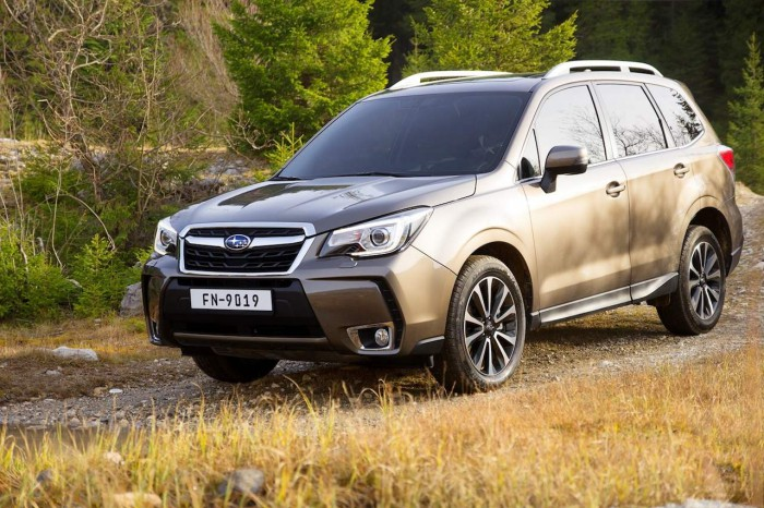 Subaru Forester 2016 Excecutive Plus frontal