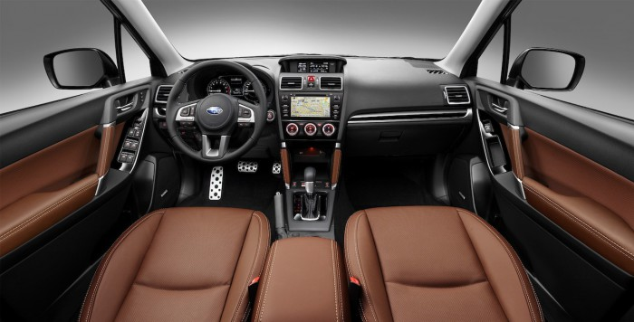 Subaru Forester 2016 Excecutive Plus interior