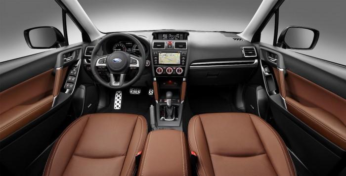 Subaru Forester 2016 Excecutive Plus interior