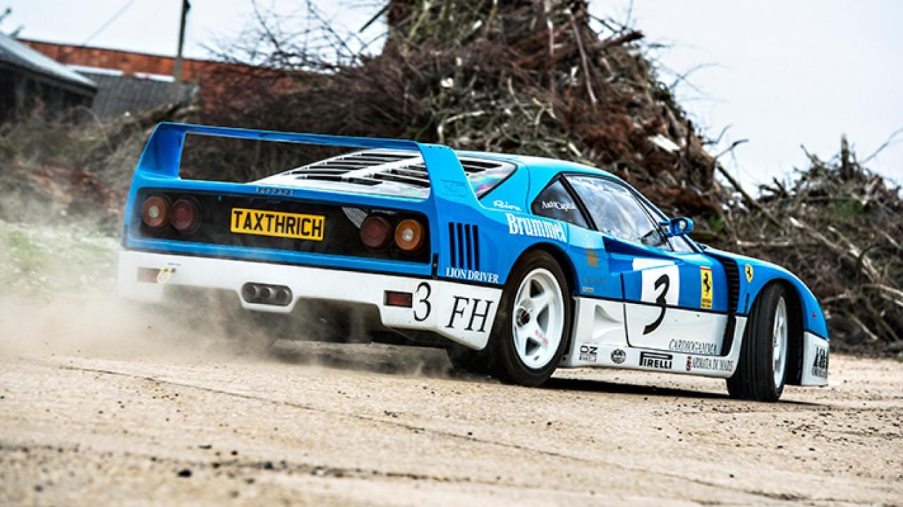 Tax the Rich Ferrari F40 GT