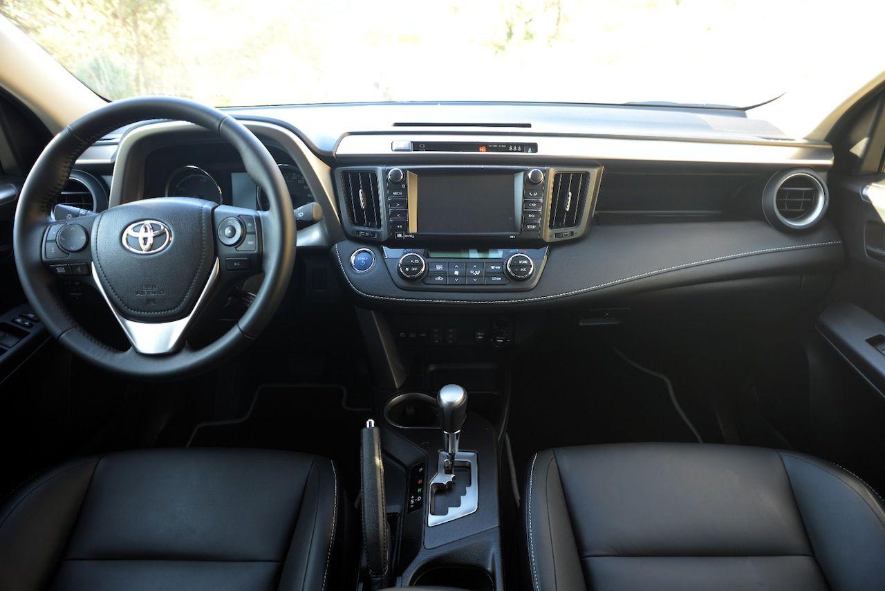 Toyota Rav4 Hybrid 2016 El Suv Compacto H 237 Brido