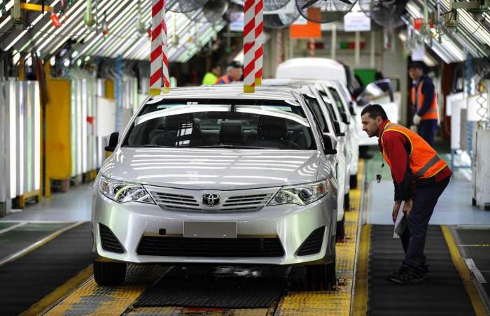 Toyota fabrica