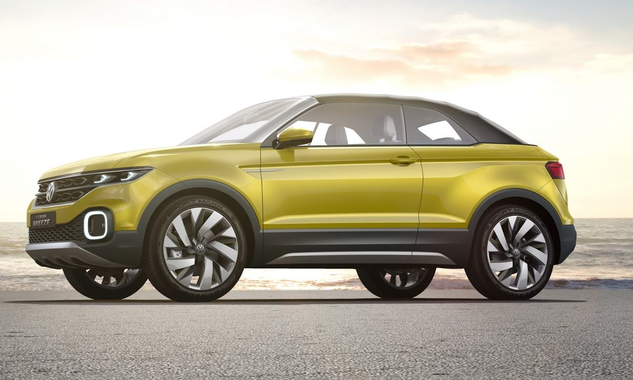 Volkswagen T-Cross Breeze Concept 2016 09