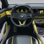 Volkswagen T-Cross Breeze Concept 2016 interior 03