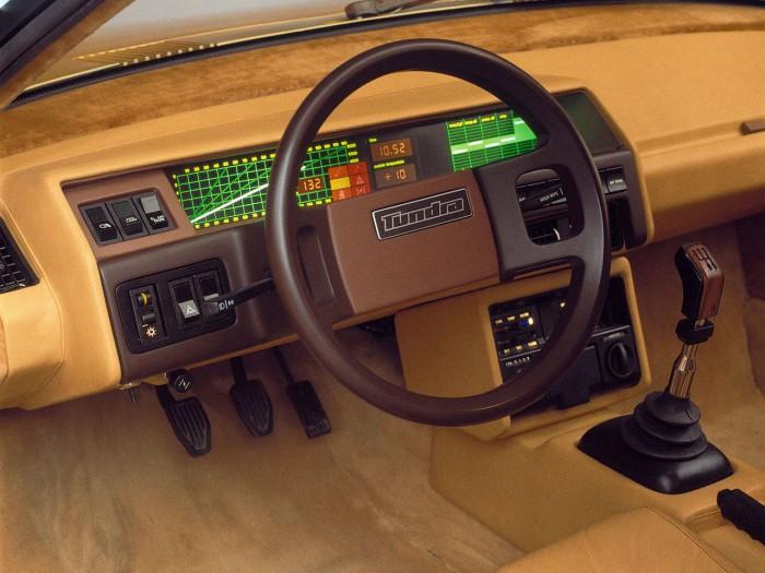 Volvo Tundra Concept 1979 cuadro de mandos