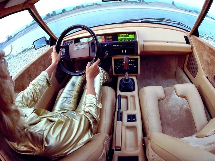 Volvo Tundra Concept 1979 interior