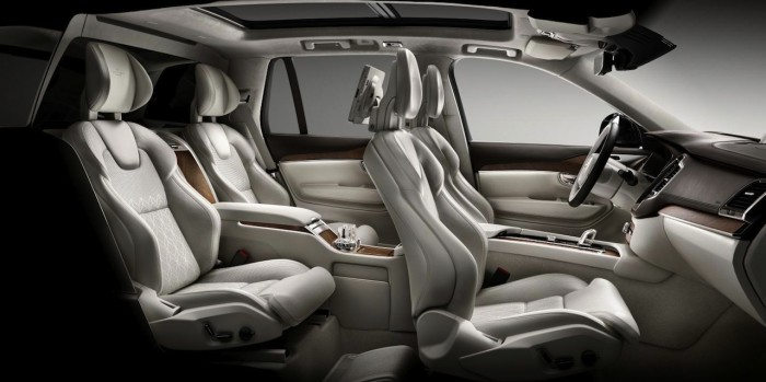 Volvo X90 Excellence 2016 interior 02