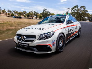 Mercedes AMG C63 S Safety Car W205 2016