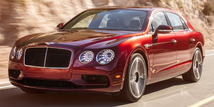 bentley flying spur V8 S 3