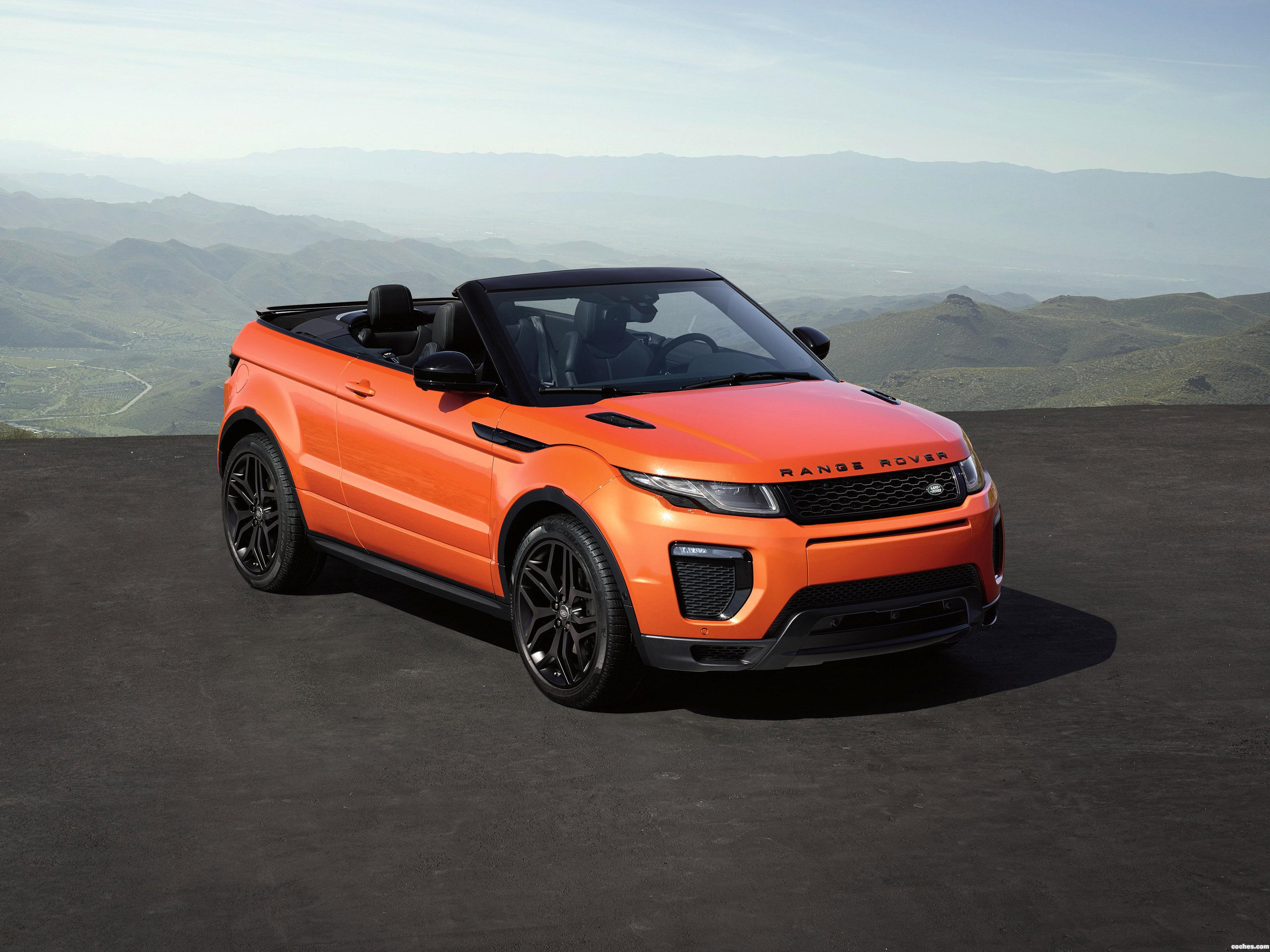 fotos de land rover range rover evoque convertible 2016 foto 20. Black Bedroom Furniture Sets. Home Design Ideas
