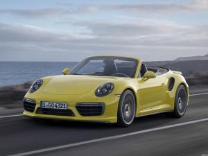 Porsche 911 Turbo S Cabriolet 991 2016