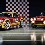 Abarth 124 Spider rally 2017 historico