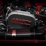 Abarth 124 Spider rally 2017 motor