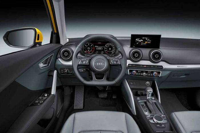 Audi Q2 2016 interior 01