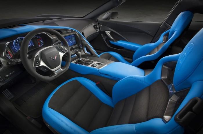 Chevrolet Corvette Grandsport 2017 interior 01