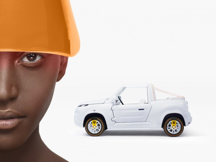 Citroën E-MEHARI by Courreges Concept 2016 08