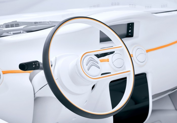 Citroën E-MEHARI by Courreges Concept 2016 interior 01