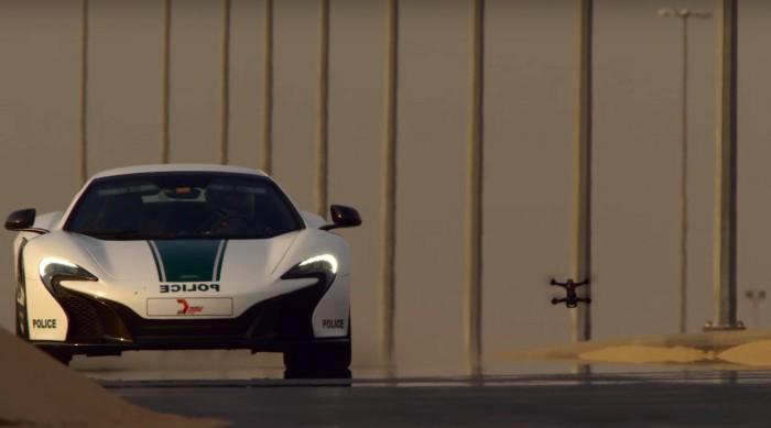 Drone vS McLaren