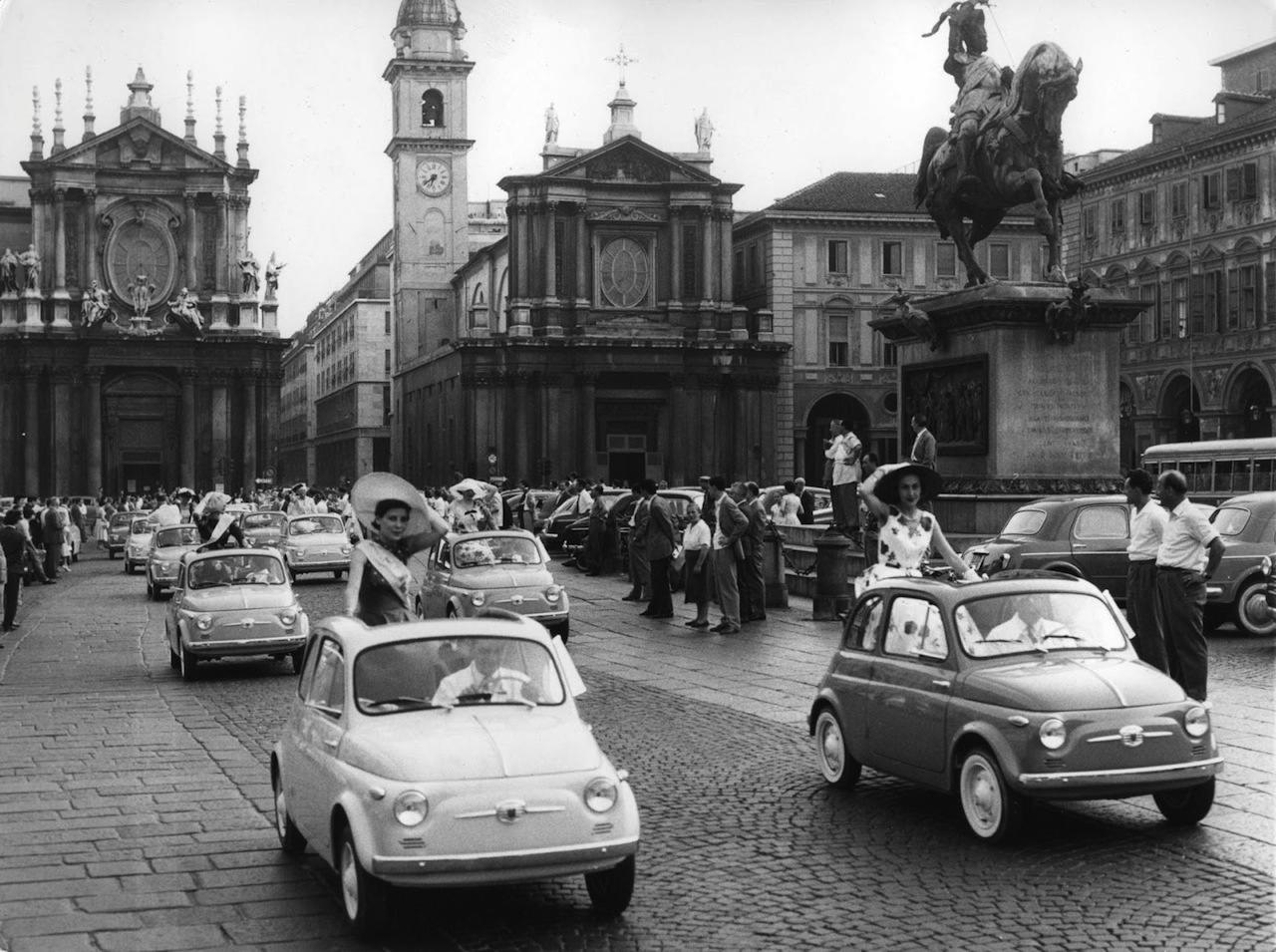 FIAT 500 Vintage Ad 1957