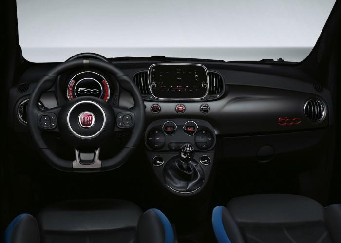 Fiat 500S 2016 interior 01