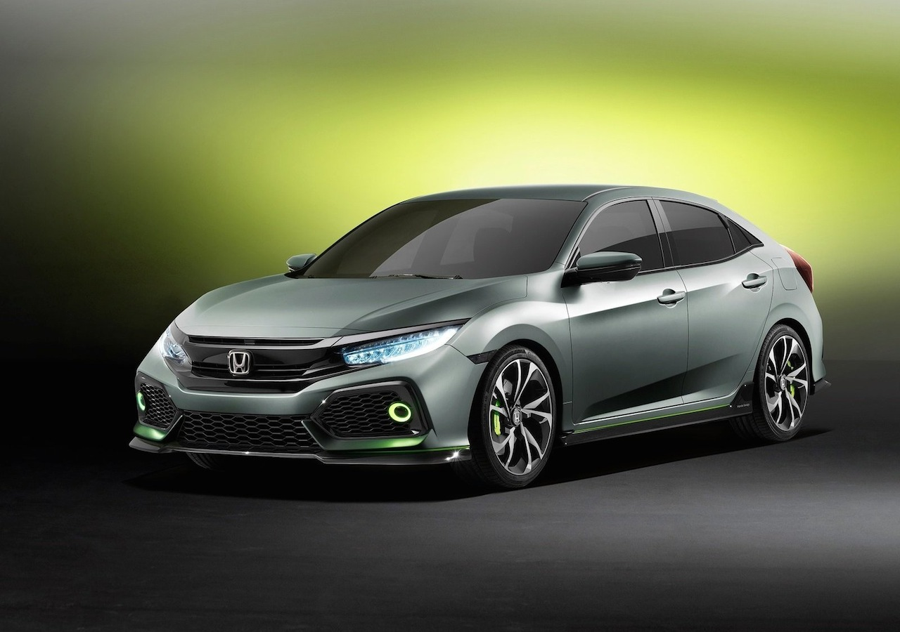 Honda Civic Hatchback Concept 2016 01