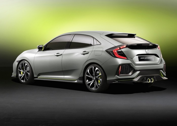 Honda Civic Hatchback Concept 2016 04