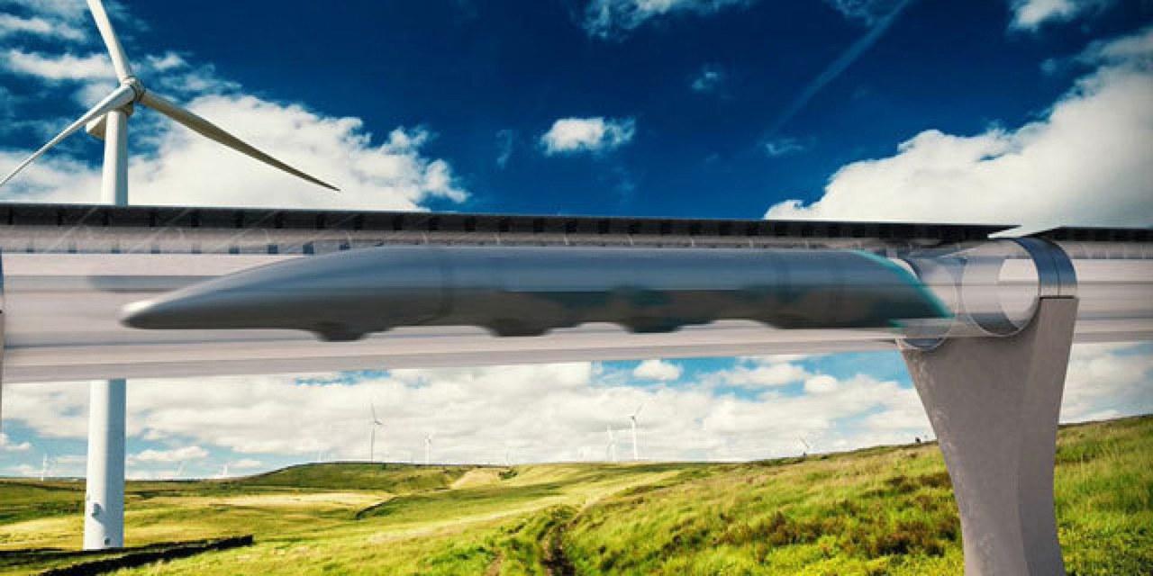 Hyperloop boceto