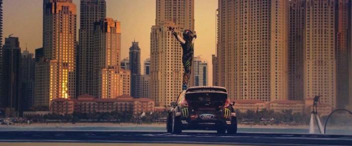 Ken Block Gymnkhana 8 Dubai 2016