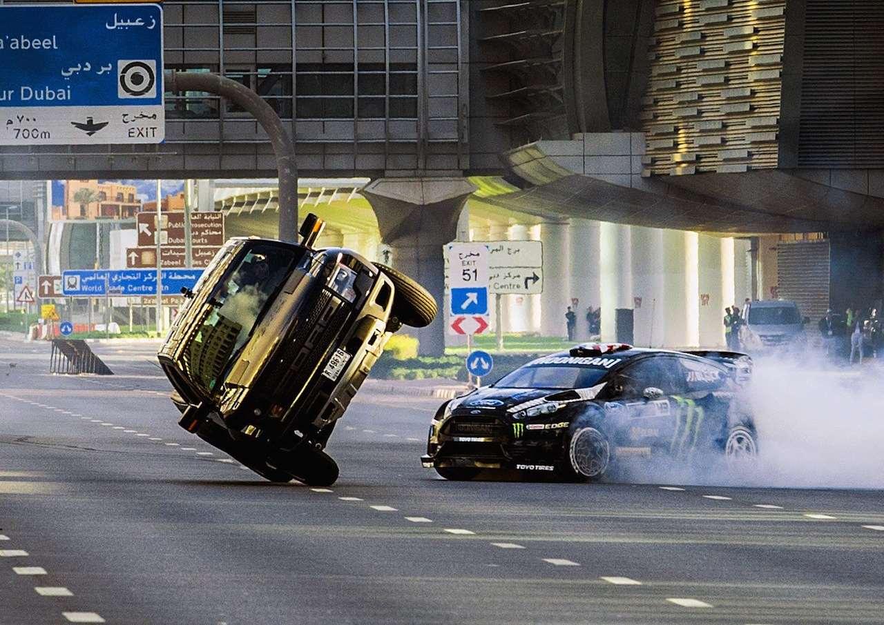 Ken Block Gymnkhana 8 Dubai