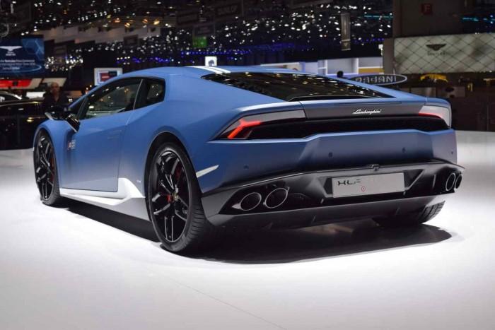 Lamborghini Huracán LP 610-4 Avio 2016 zaga
