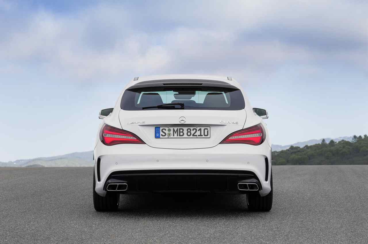 mercedes amg cla 45 shooting brake 2016 familiar avanzado. Black Bedroom Furniture Sets. Home Design Ideas