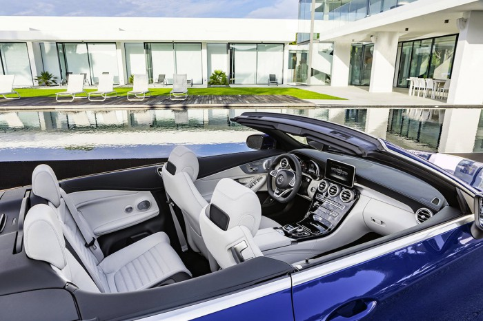 Mercedes-Benz Clase C Cabriolet 2016 interior 03