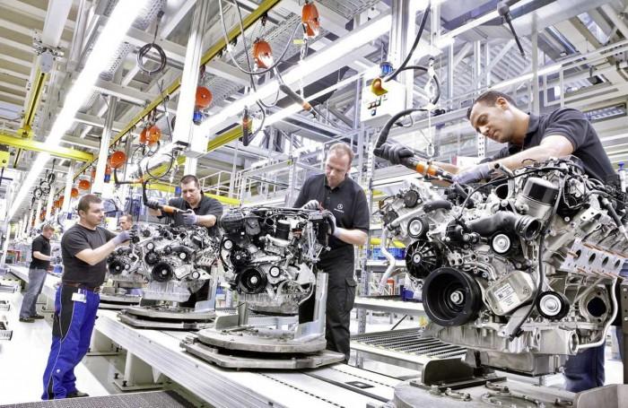 fabrica motores Mercedes-Benz