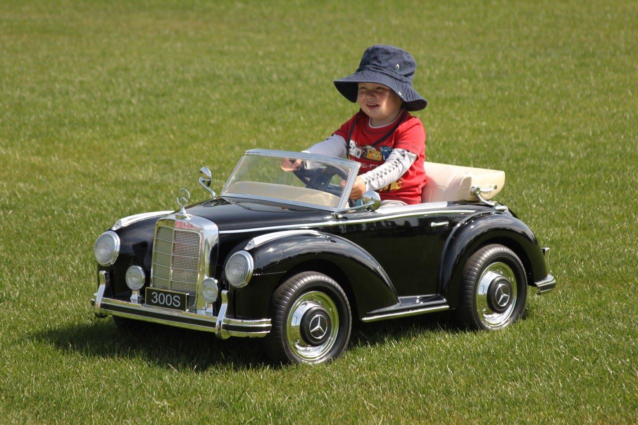 Mercedes SL para niños 01