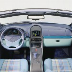 Mercedes Vario Research Car 1995 interior 03