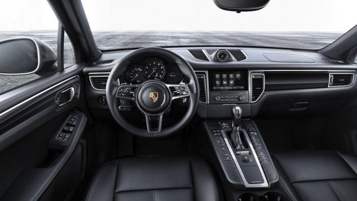 Porsche Macan 4 cilindros 2017 interior 01
