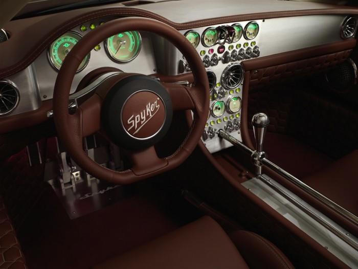 Spyker C8 Preliator 2016 interior 01