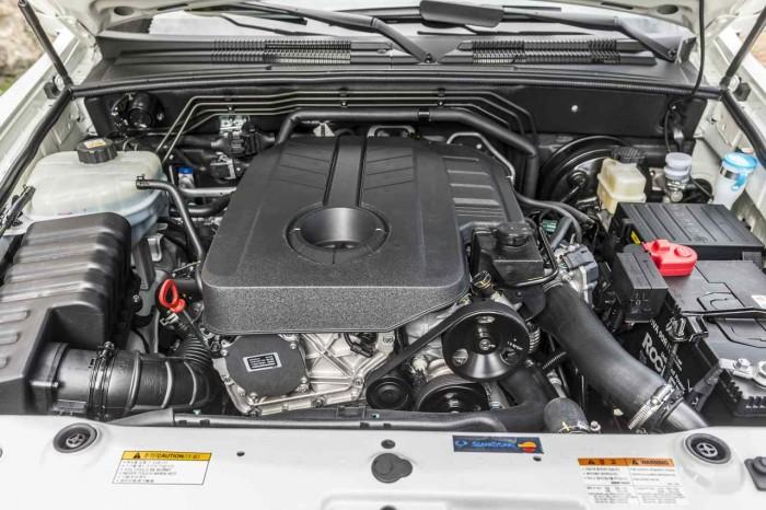 SsangYong Rexton 2016 motor D22T