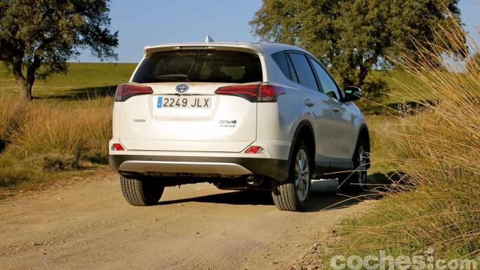 Toyota RAV4 Hybrid 2016 prueba 36